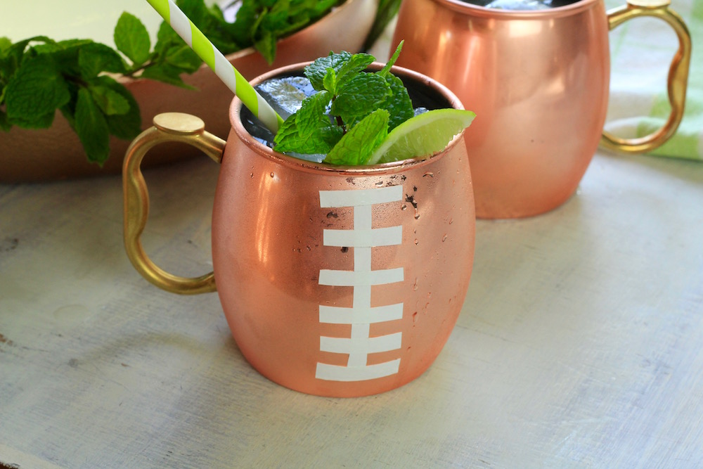 Minty Madera Mule cocktail party
